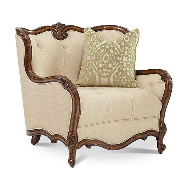 Classic Carved Armchair KKS 003