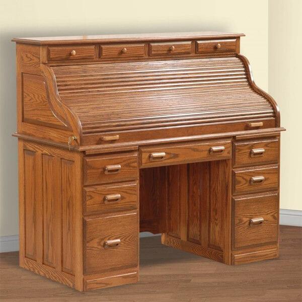 Classic Design Writing Desks KMT 007 roll top