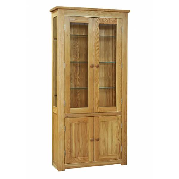 Simple Design Teak Display Cabinet KLP 003
