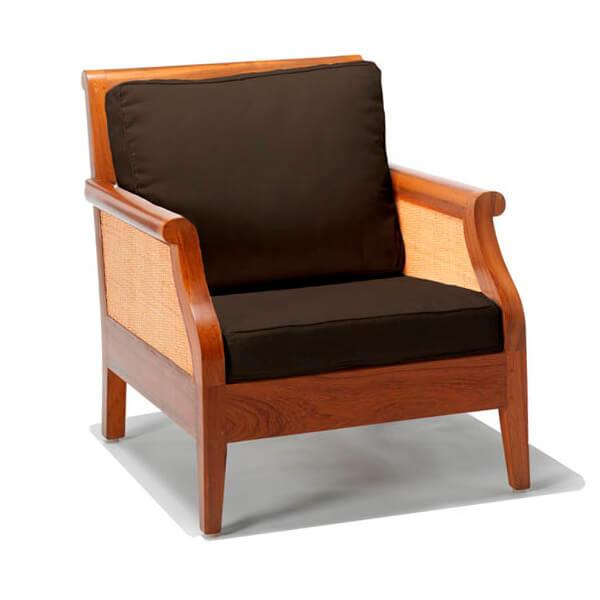 Simple Living Sofa Design KKS 011 Black Cushions