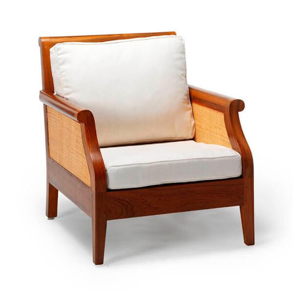 Simple Living Sofa Design KKS 011 White Cushions