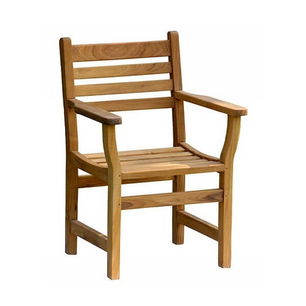 Teak Outdoor Armchairs