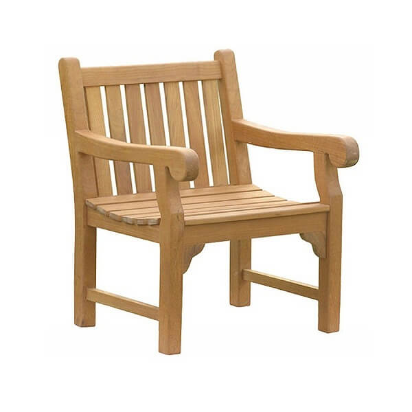 Teak Outdoor Armchairs KTC 008
