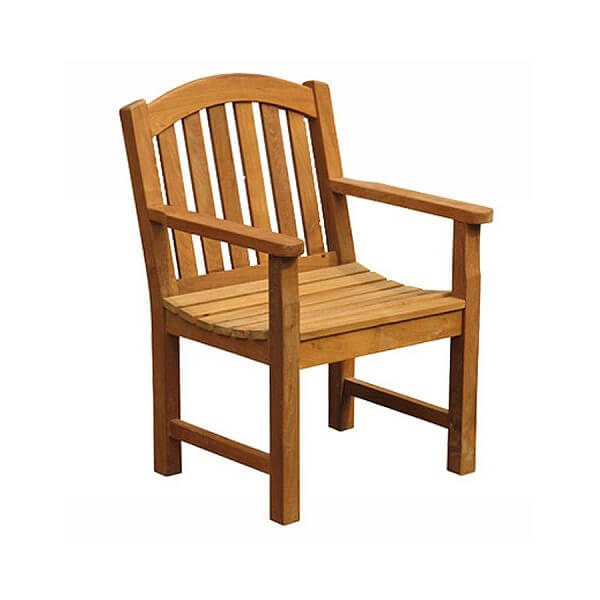 Teak Outdoor Armchairs KTC 013