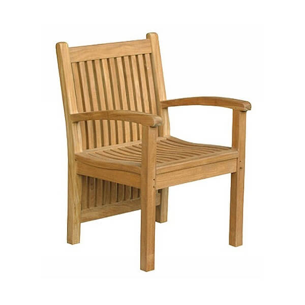 Teak Outdoor Armchairs KTC 037