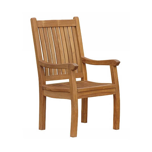Teak Outdoor Armchairs KTC 055