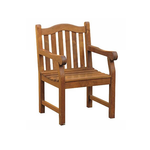 Teak Outdoor Armchairs KTC 097