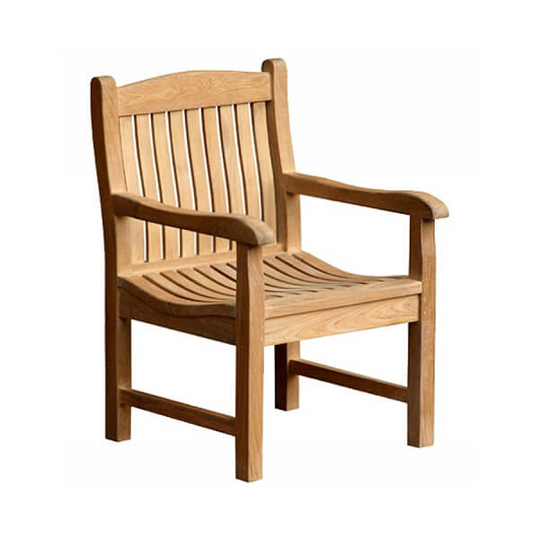 Teak Outdoor Armchairs KTC 138