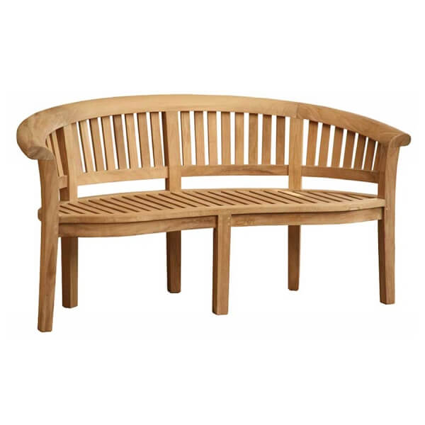 Outdoor Classic Banana Bench KTC 124
