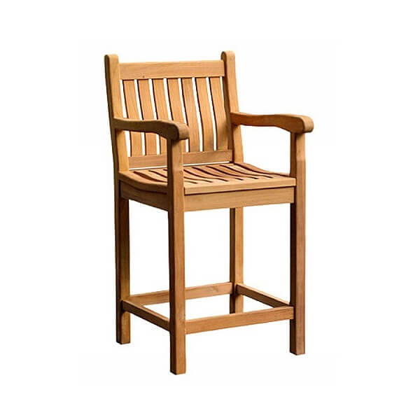 Teak Classic Bar Chairs