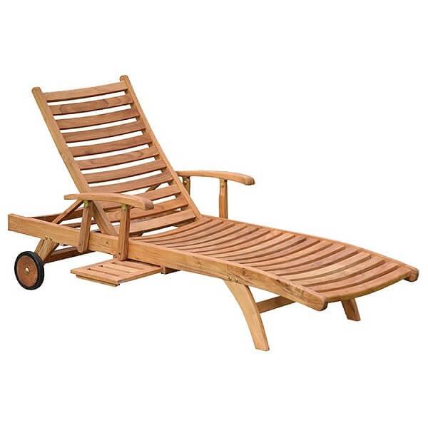 Classic Outdoor Sunlounger KTC 046