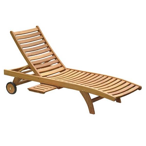 Classic Outdoor Sunlounger KTC 047