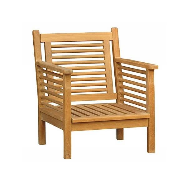 Teak Outdoor Deep Seating Chairs KTC 151