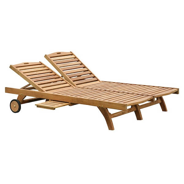 Teak Outdoor Double Loungers KTC 036
