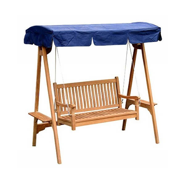 Teak Outdoor Swing Bench