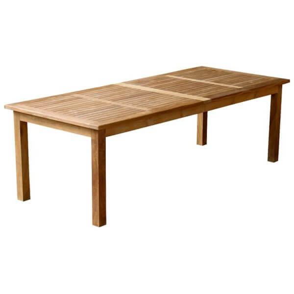 Teak Outdoor Fixed Dining Table KTT 048