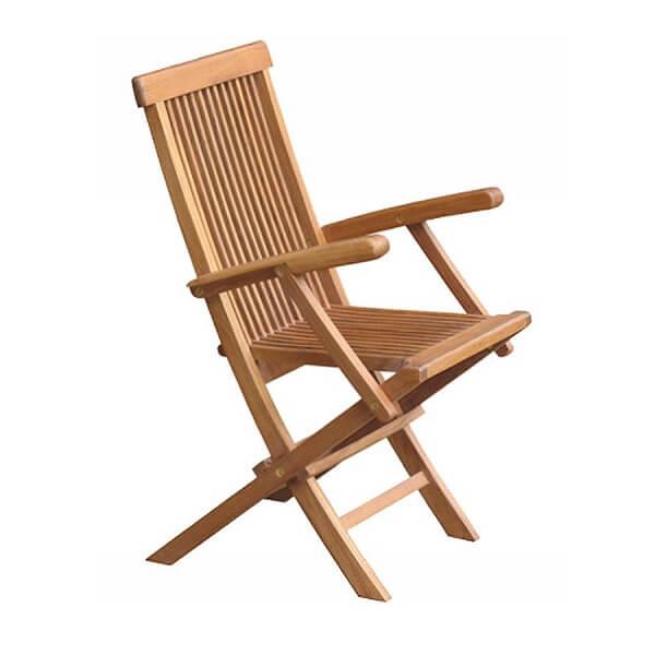 Teak Outdoor Folding Chairs KTC 024