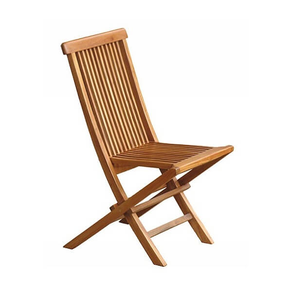 Teak Outdoor Folding Chairs KTC 026a