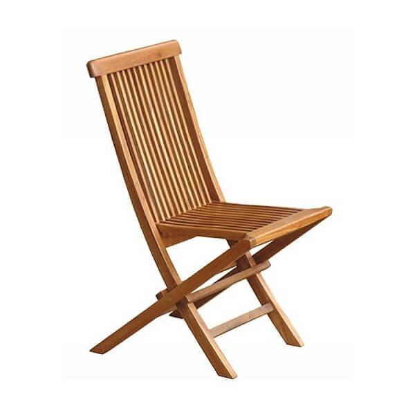 Teak Outdoor Folding Chairs KTC 026a