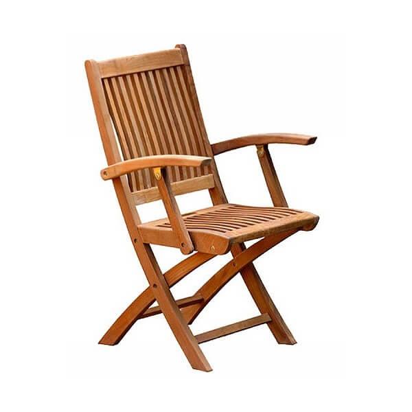 Teak Outdoor Folding Chairs KTC 052
