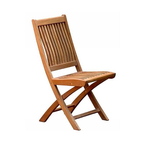 Teak Outdoor Folding Chairs KTC 054