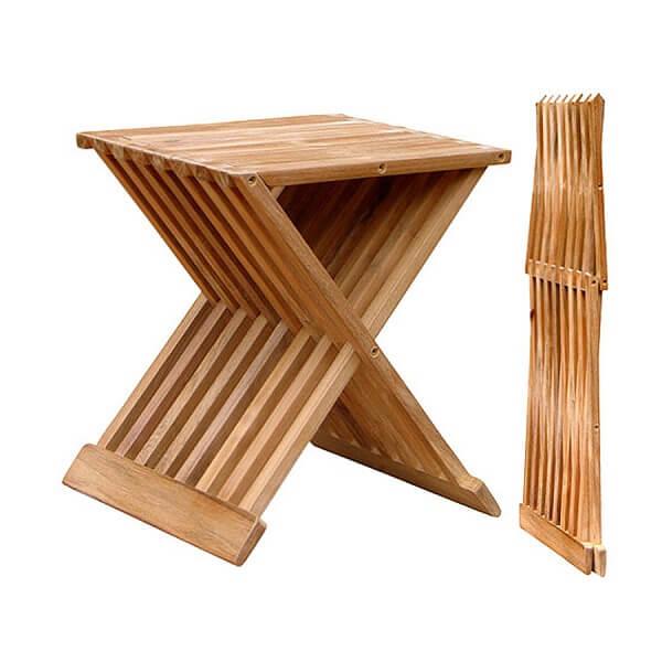 Teak Outdoor Folding Chairs KTC 065