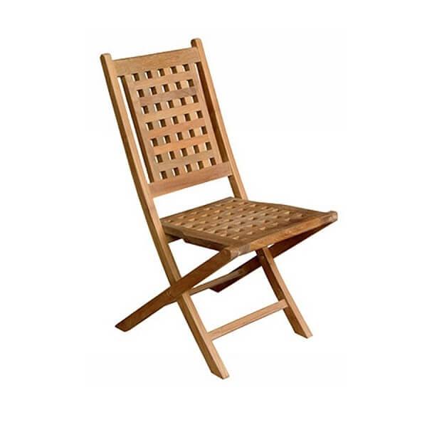 Teak Outdoor Folding Chairs KTC 143