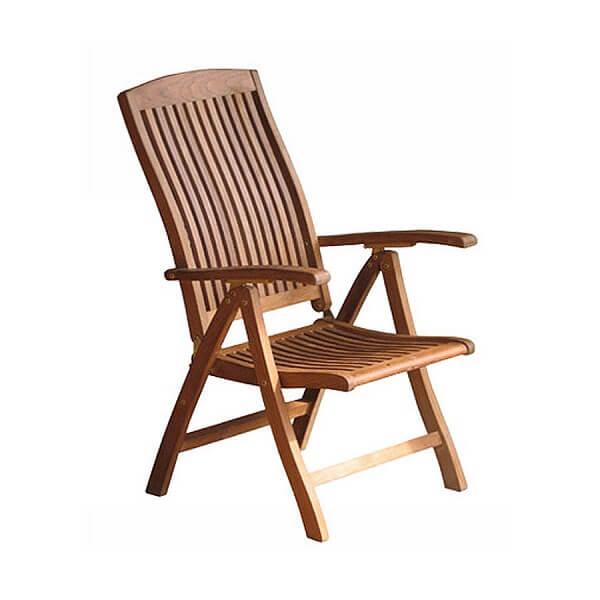Teak Outdoor Recliner Chairs KTC 090