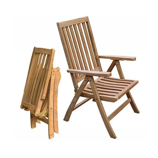 Teak Outdoor Recliner Chairs KTC 110