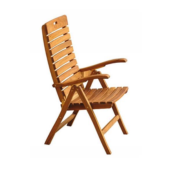 Teak Outdoor Recliner Chairs KTC 148