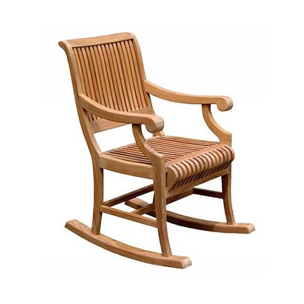 Teak Outdoor Rocking Chairs KTC 021