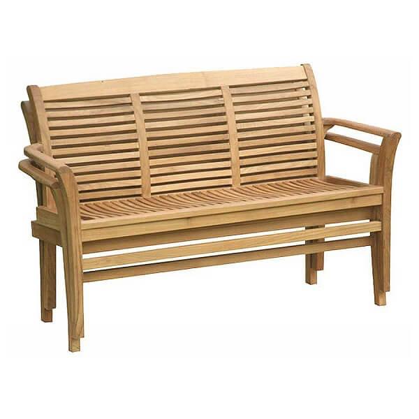 Teak Outdoor Stacking Bench KTC 098