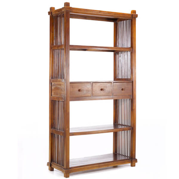 Cheap Teak Bookcase KRB 002
