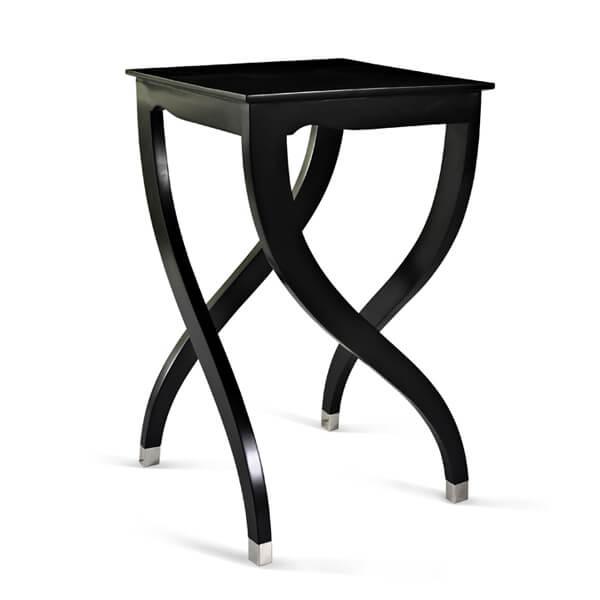 Antique Black Paint Living Room Table KCT 013
