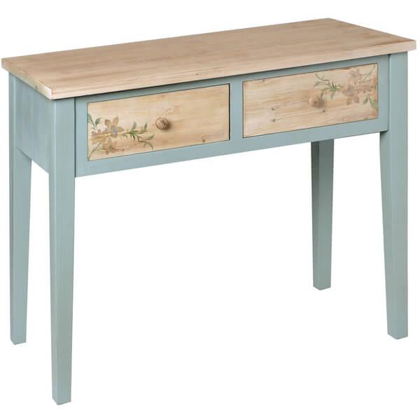 Antique Painted Mahogany Console Table KKK 030