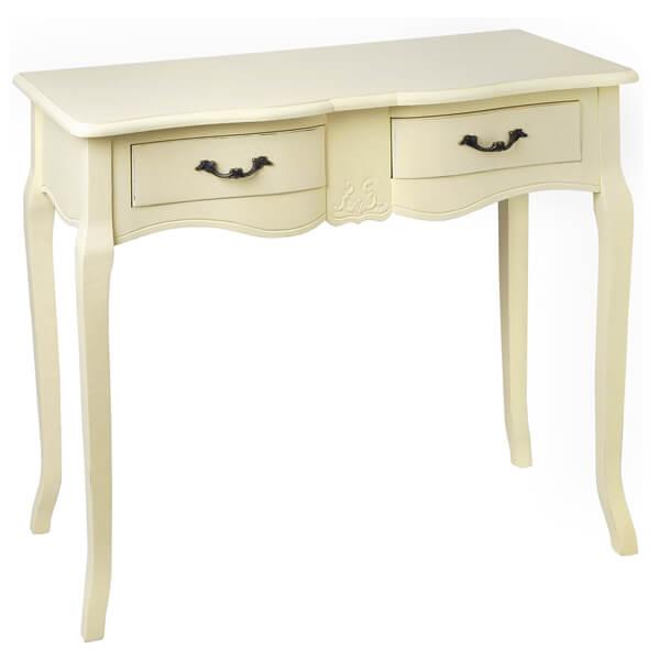 Antique White Paint Console Table KKK 017