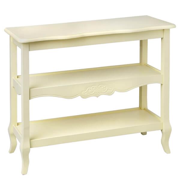 Antique White Paint Console Table KKK 019