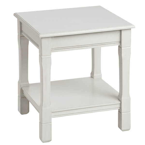 Antique White Paint Living Room Table KCT 054