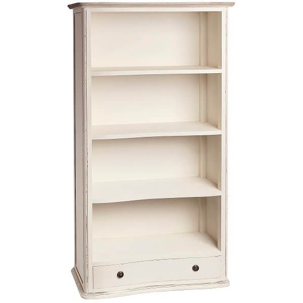 Antique White Paint Bookcase KRB 013