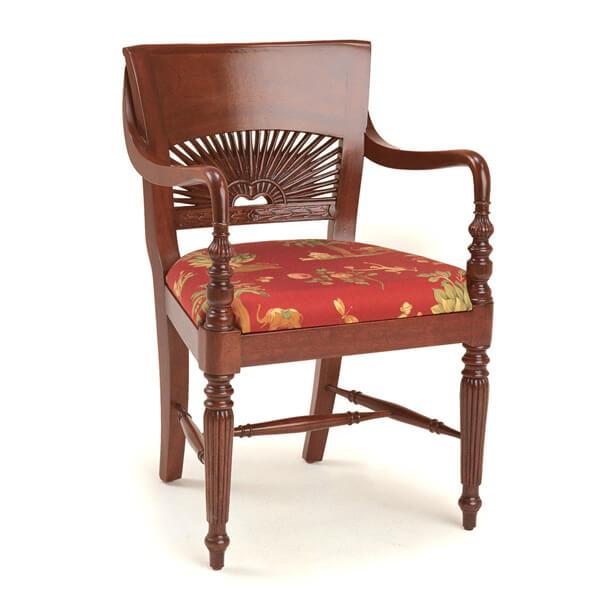 Classic Dining Armchairs Designs KMK 036