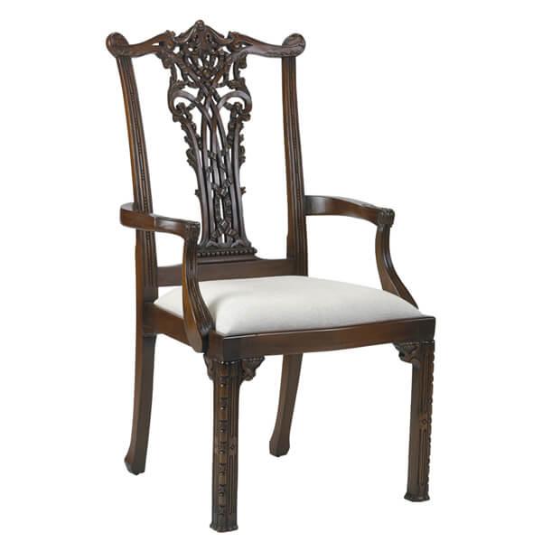 Classic Dining Armchairs Designs KMK 077