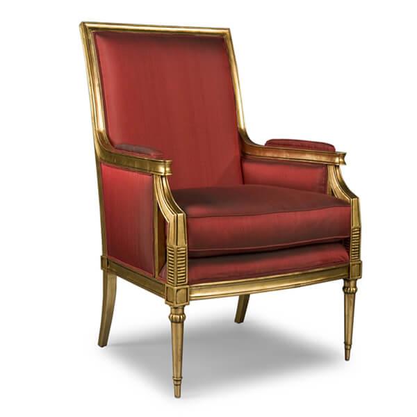 Classic Living Sofa Design KKS 005 Red