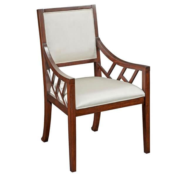 Simple Dining Armchairs Designs KMK 006