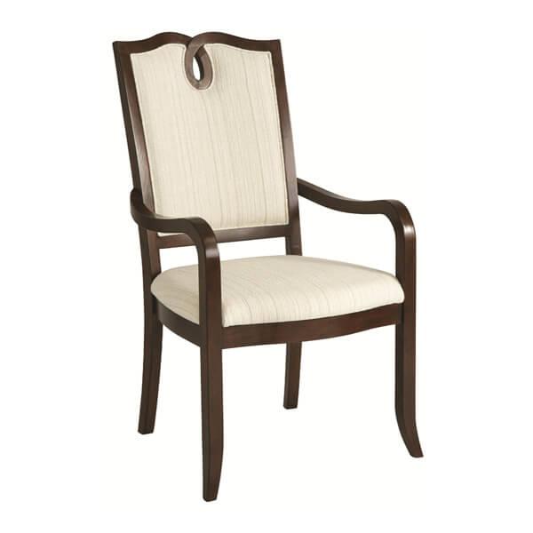 Simple Dining Armchairs Designs KMK 010