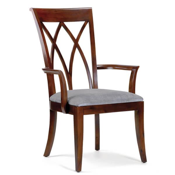 Simple Dining Armchairs Designs KMK 073