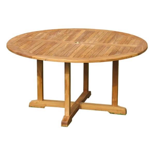 Teak Outdoor Fixed Dining Table KTT 076
