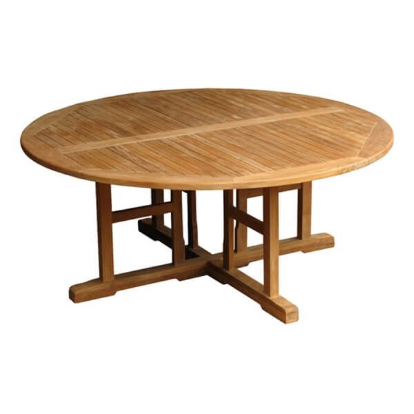 Teak Outdoor Round Table KTT 078