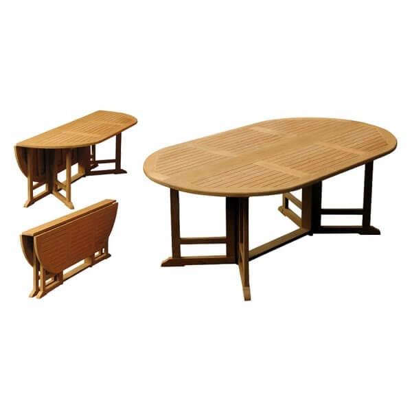 Teak Outdoor Folding Table KTT 041