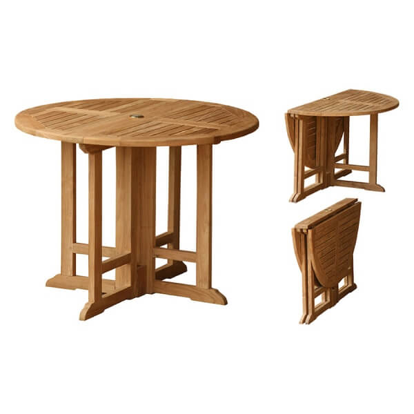 Teak Outdoor Folding Table KTT 082