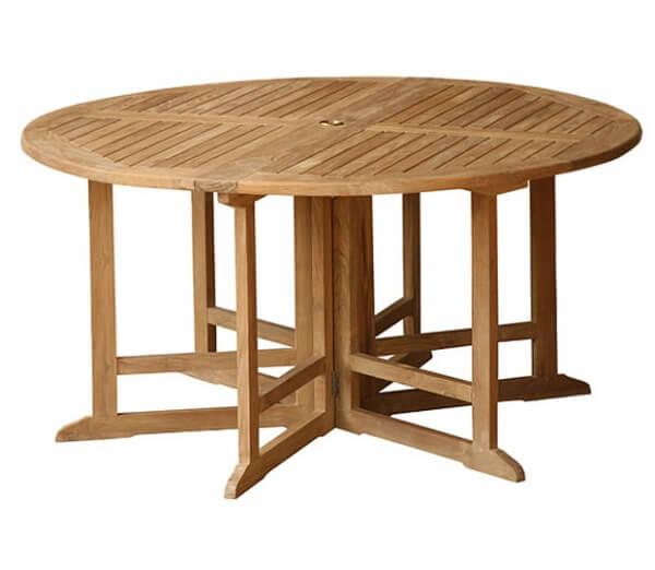 Teak Outdoor Folding Table KTT 085